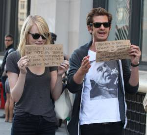 Emma Stone et Andrew Garfield : un bon coup de pub grâce aux paparazzis !