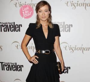 Olivia Wilde : working girl sexy à la soirée Conde Nast Traveler