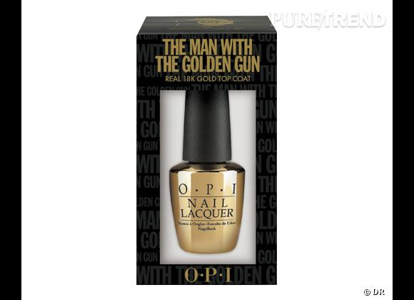 Top Coat The Man with the Golden Gun, Collection Skyfall d'O.P.I., 54 €.