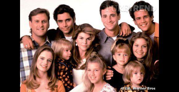 Tout le casting au grand complet à l'époque du succès de la série.