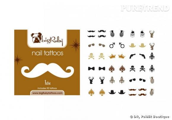 Stickers His Design de Big Ruby, 9,50 €, en vente sur Pshiiit Boutique