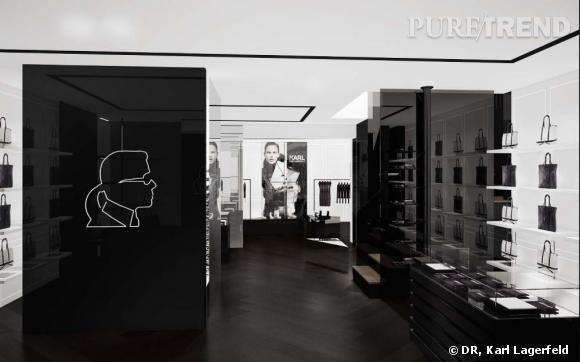 Karl Lagerfeld ouvre son tout premier concept store européen à Paris.