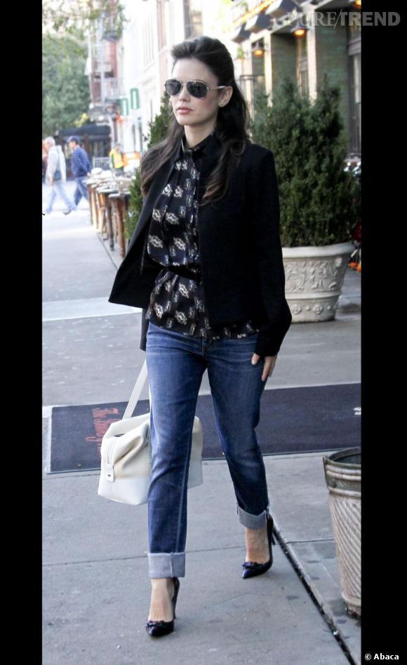 Rachel Bilson dans les rues de New York le 1er octobre dernier.