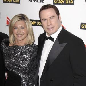 John Travolta et Olivia Newton-John plus récemment.