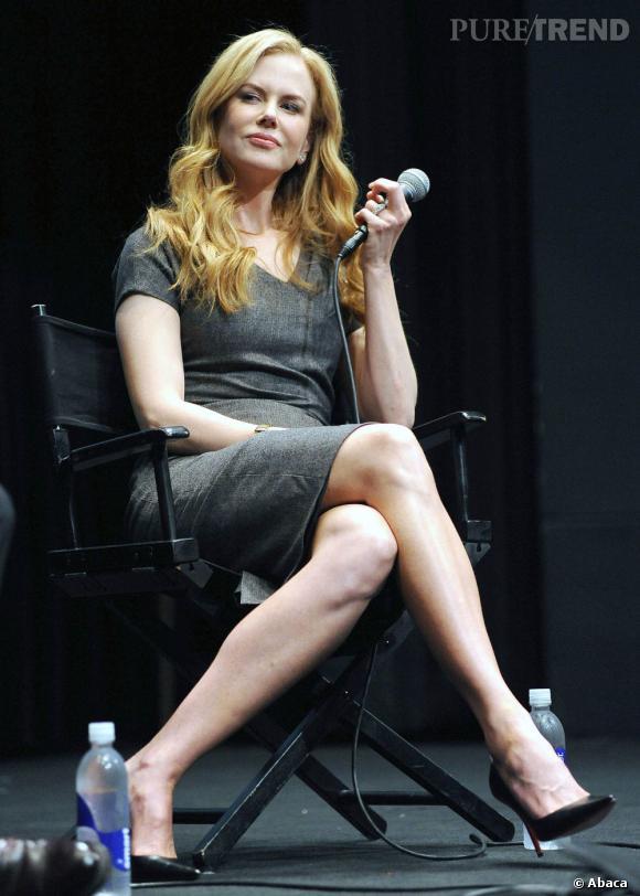 """Nicole Kidman lors de la conférence de presse pour """"Paperboy""""."""