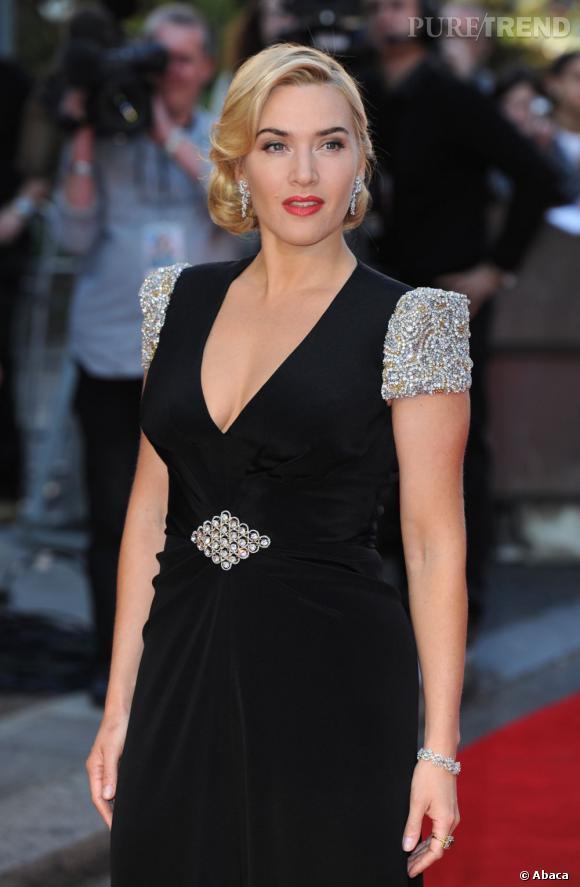 Kate Winslet, 37 ans et toujours glamour.