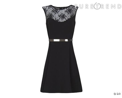 Veste avec robe noire mariage