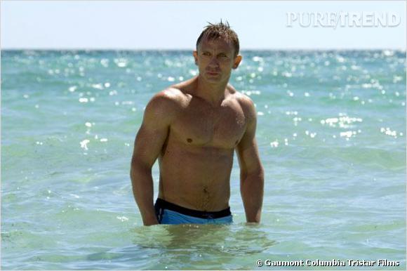 Qui veut acheter Daniel Craig ? Dommage, pour 72 000 dollars vous n'aurez que le maillot de bain.