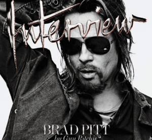 Brad Pitt pour Interview : ''La famille passe en premier''