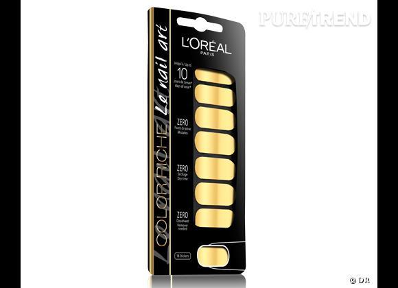 Le must have d'Aurélie       Patch Color Riche Le Nail Art L'Oréal Paris, 11,90 €