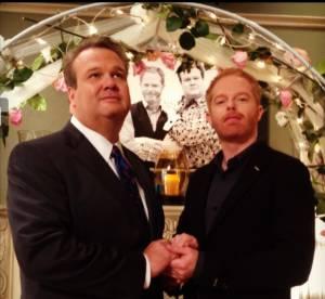 ''Modern Family'' : première photo du mariage de Cam et Mitchell ?