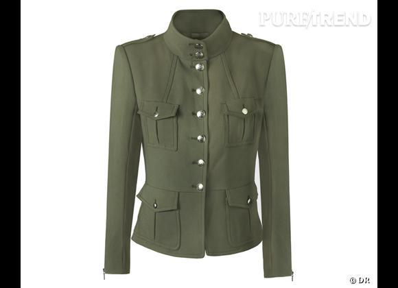 Army Militaire Le L'allure Tendance Bon Shopping Mango Chic Veste BSxqzzwC