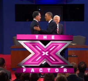 Barack Obama VS Mitt Romney : le débat selon X Factor !