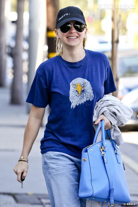 Anna Faris dans les rues de West Hollywood.