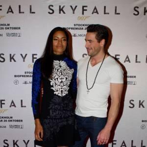 Naomie Harris et Ola Rapace son partenaire dans le film.