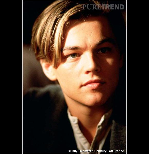 Dans Titanic, Leonardo DiCaprio n'était pas seulement le roi du monde, mais aussi celui de la mèche rebelle.