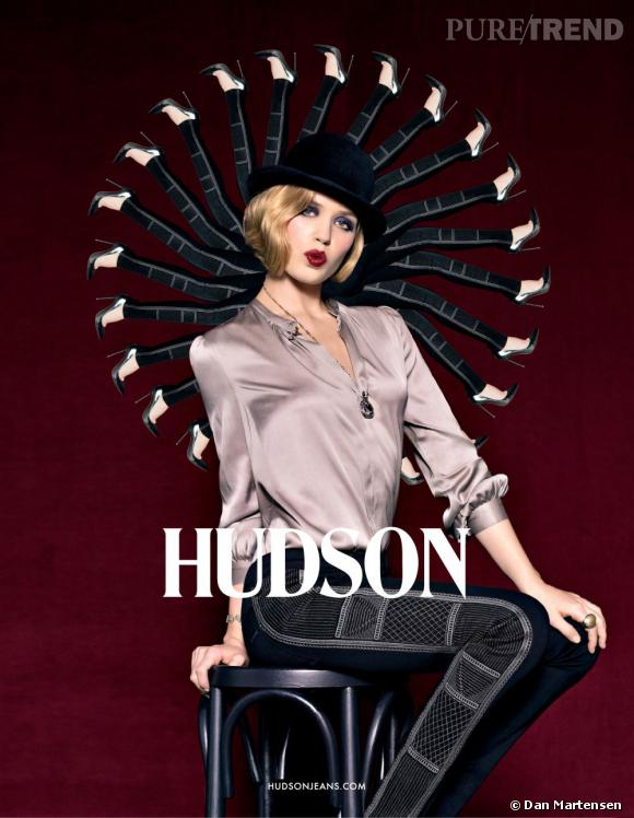 """Campagne """"Hudson Cabaret"""" de Hudson Jeans."""