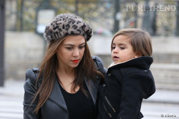 Kourtney Kardashian fait découvrir Paris à son fils Mason.