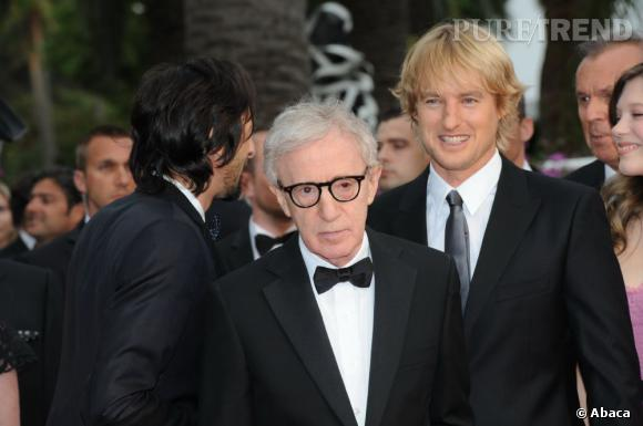 "Owen Wilson a tourné avec Woody Allen dans ""Midnight in Paris""."