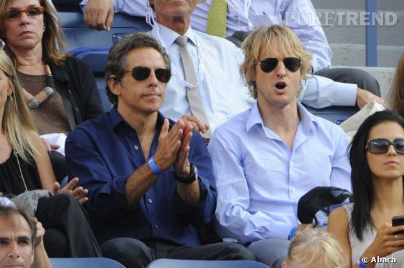 Owen Wilson et son meilleur ami Ben Stiller.
