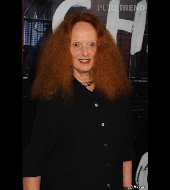 Grace Coddington , styliste du Vogue et surtout, célèbre crinière rousse du magazine.