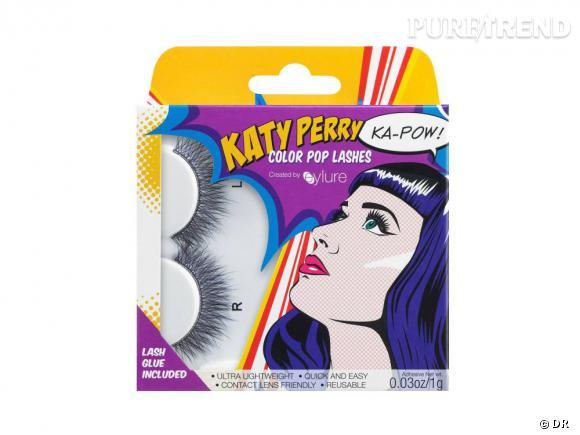 Les nouveaux faux cils signés Katy Perry.