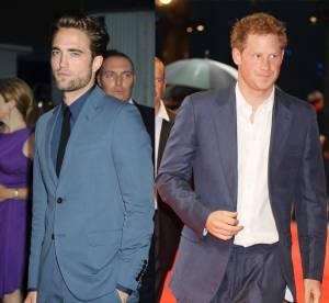 Robert Pattinson et Prince Harry : celibataires les plus en vue de 2012