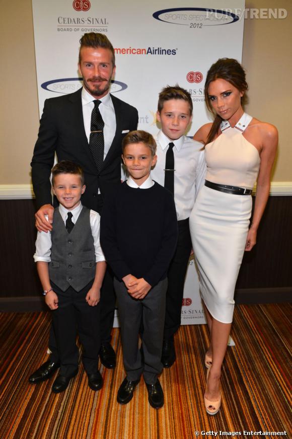La famille Beckham élue la plus stylée par les Anglais.