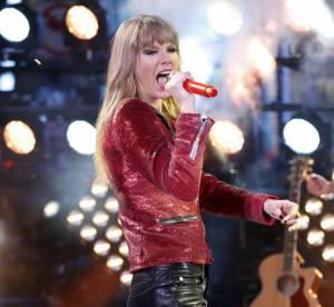 Taylor Swift : concert et baisers voles avec Harry Styles sur Times Square