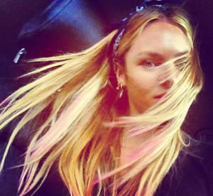 Candice Swanepoel, Christina Aguilera, Coco Rocha : Le desastre des pointes colorees