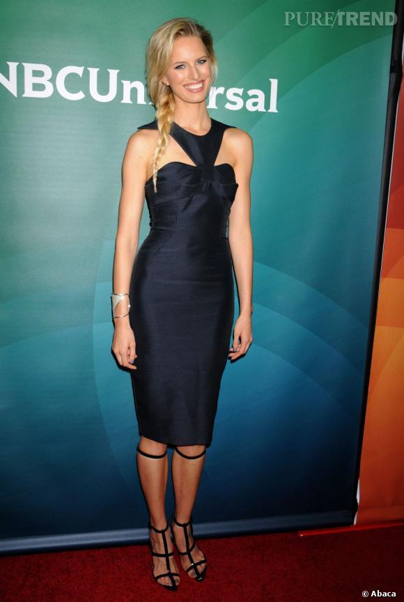 Karolina Kurkova à la présentation de la nouvelle grille des programmes de la chaîne NBC Universal à Los Angeles le 7 janvier.