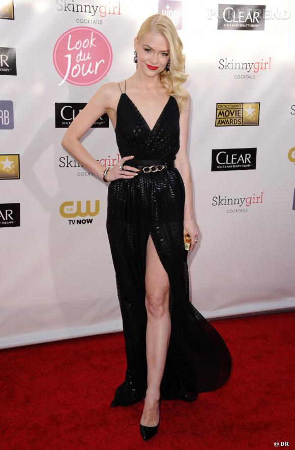 Jaime King aux Critics' Choice Awards 2013 à Santa Monica en Californie.