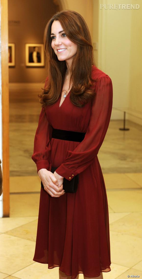 Kate Middleton lors de l'inauguration.