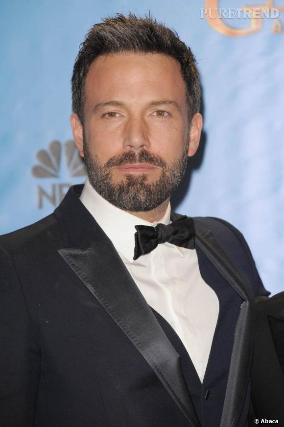 Aux Golden Globes 2013, l'acteur affiche une barbe et une chevelure fournies et grisonnantes. Le look de la maturité.