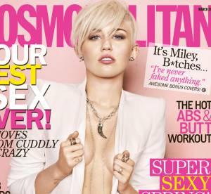 Miley Cyrus : sexy en Une de Cosmopolitan, elle affirme son amour pour Liam Hemsworth