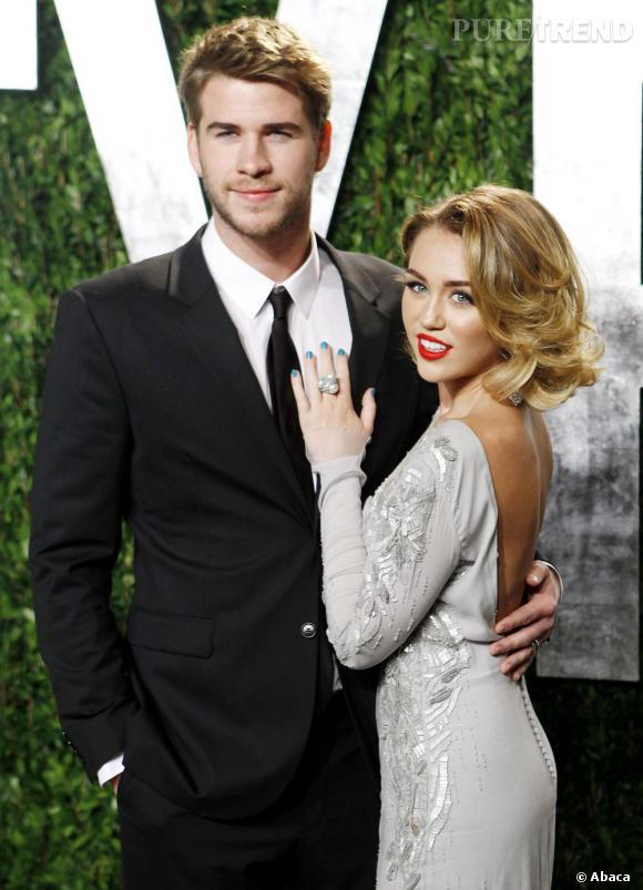 Miley Cyrus parle de son fiancé Liam Hemsworth.