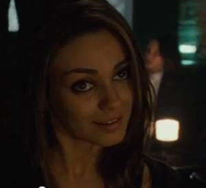 "Mila Kunis et Ryan Gosling dans la fausse bande-annonce de ""50 shades of Grey""."