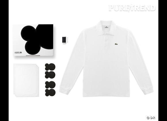 80 Custom Polo Kit, Lacoste    Numéro 2 - Coude à Coude   Edition limitée
