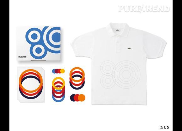 80 Custom Polo Kit, Lacoste    Numéro 3 - Foiling Forever   Edition limitée