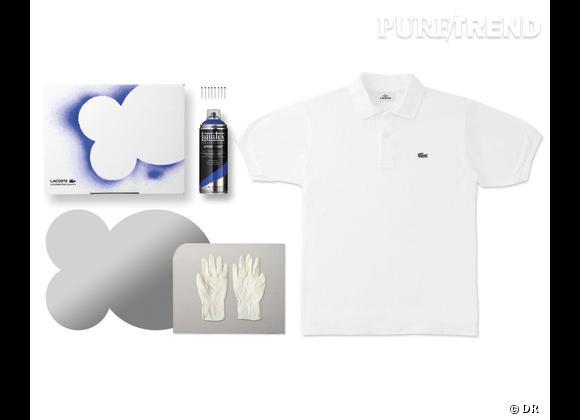 80 Custom Polo Kit, Lacoste    Numéro 4 - Anti Tag   Edition limitée