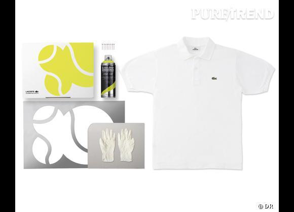 80 Custom Polo Kit, Lacoste    Numéro 5 - 80th Cup   Edition limitée