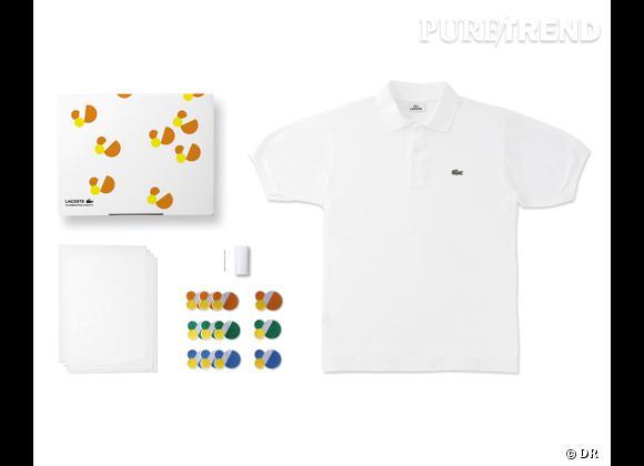 80 Custom Polo Kit, Lacoste    Numéro 6 - Clan 80   Edition limitée