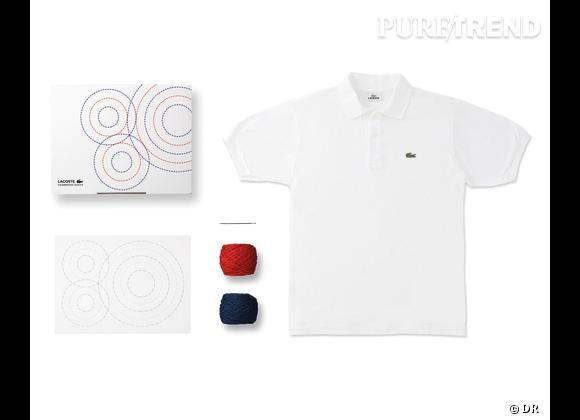 80 Custom Polo Kit, Lacoste    Numéro 7 : Needle Time   Edition limitée