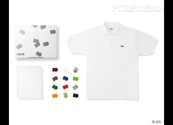 80 Custom Polo Kit, Lacoste    Numéro 8 : Foil Foil Foil   Edition limitée