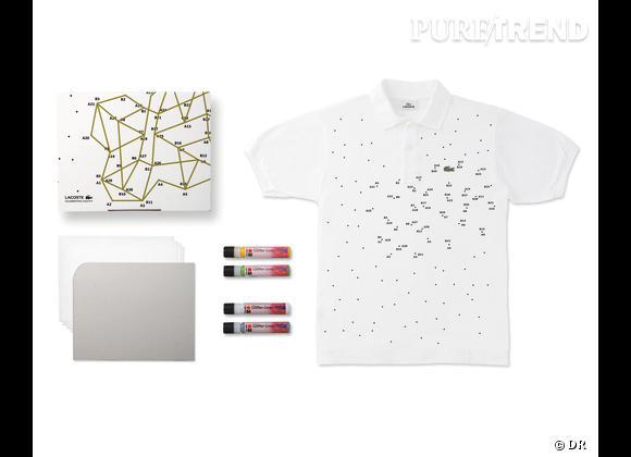 80 Custom Polo Kit, Lacoste    Numéro 11 : Dot Dot   Edition limitée