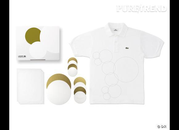 80 Custom Polo Kit, Lacoste    Numéro 12 - Foiling Mania   Edition limitée