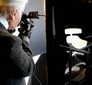 Vidéo des coulisses du shooting Cassina by Karl Lagerfeld.