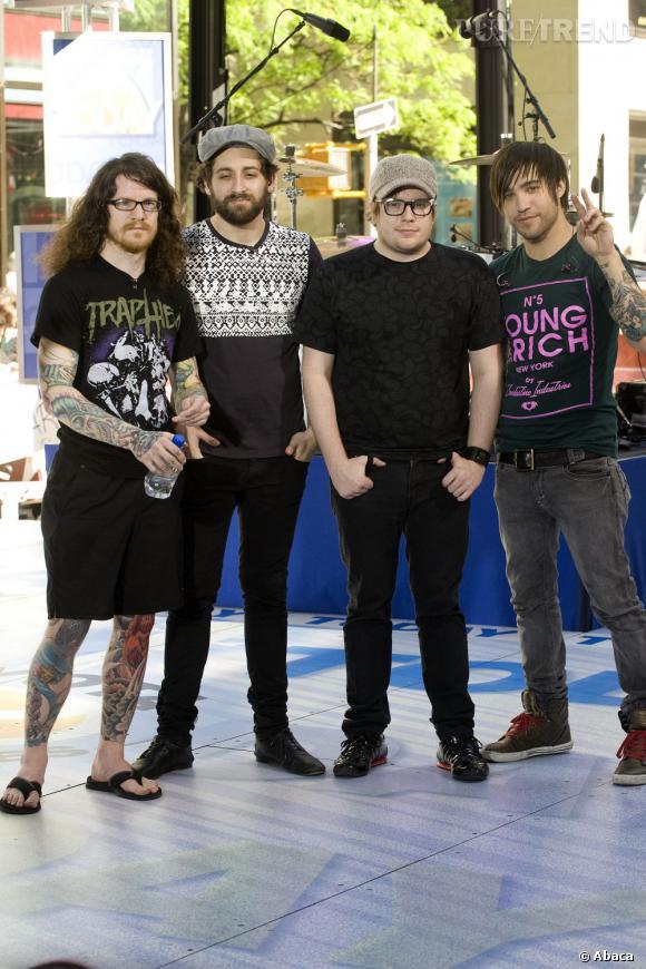 """Les Fall Out Boy sont de retour avec un nouveau single, un nouvel album """"Save Rock and Roll"""" et une tournée !"""