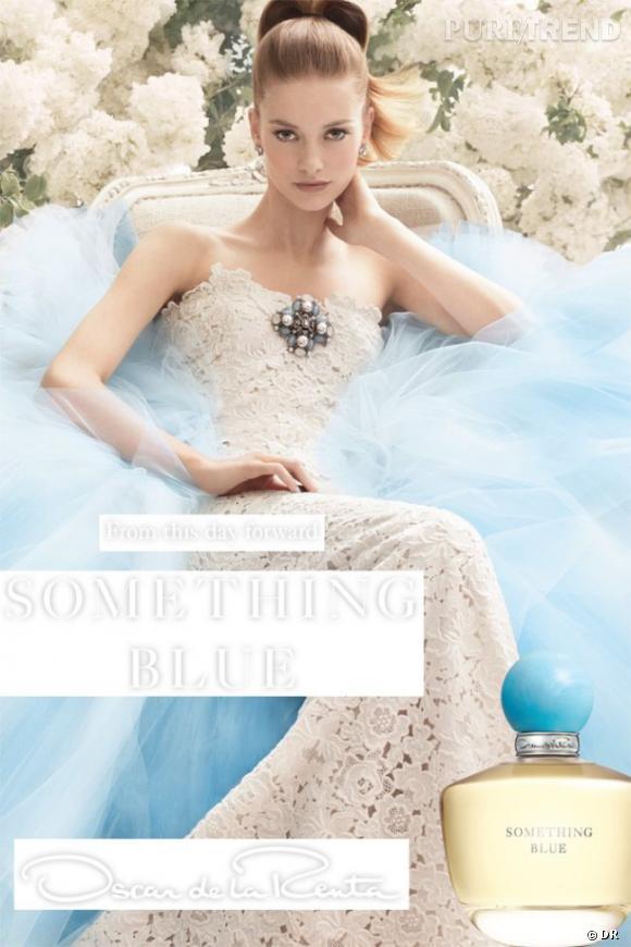 Something Blue, le parfum bijou d'Oscar de la Renta.