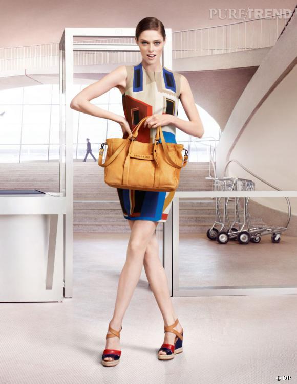 "Campagne Longchamp Printemps 2013 : ""You Should be Dancing""."